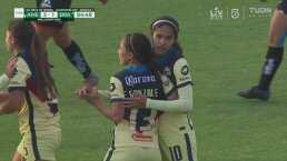 ¡Golazo! Eva González marca el 2-1 con un derechazo lejano
