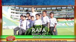 ¡Mira lo que Rafael Márquez ha hecho a través de una fundación!