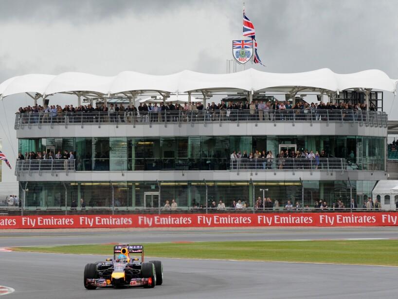 APTOPIX Britain F1 GP Auto Racing
