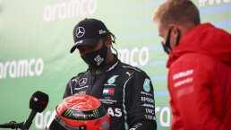 Hamilton se lleva tremendo regalo tras igualar el récord de Schumacher