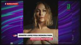 J.Lo desafió a las redes sociales al posar sin ropa para promocionar su música