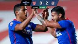 Resumen | Cruz Azul logró vencer a domicilio 0-2 a Necaxa