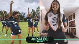 Jana Gutiérrez celebra el superliderato del América con nuevo TikTok