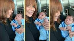 Como toda una tía amorosa: Alejandra Guzmán comparte tiernos momentos con su sobrino Apolo