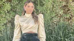 Galilea Montijo impacta en redes sociales por llevar un look elegante, sin perder el estilo juvenil