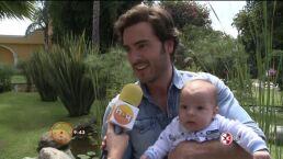 Pablo Lyle presenta a su hijo HOY