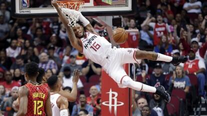 (13-6) Houston Rockets 158-111 Atlanta Hawks (4-16)
