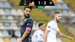Napoli gana con 'Chucky' ante Rijeka en Europa League