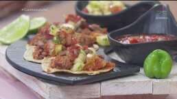 RECETA: Tacos campechanos 2020