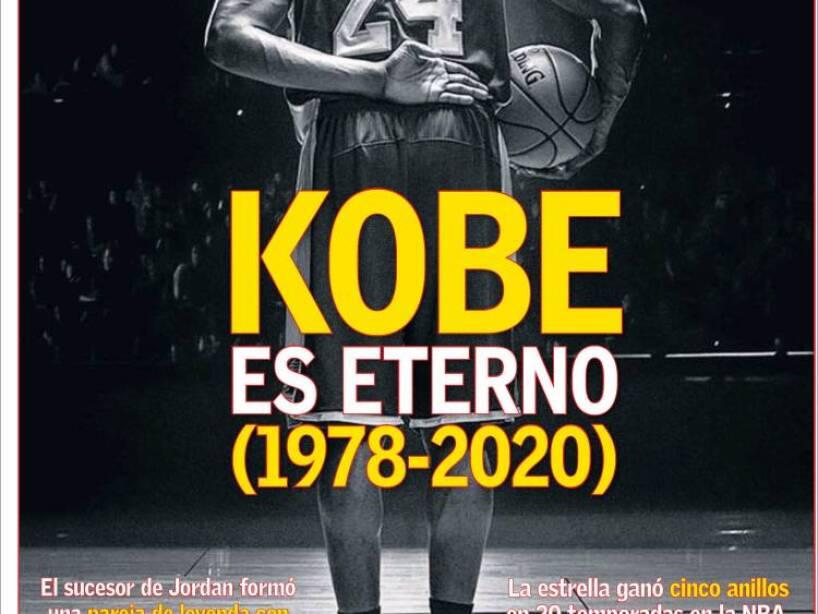 Kobe Bryant, periódico, AS.jpg