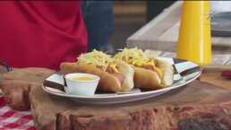 RECETA: Hot dog de boloñesa