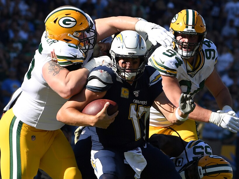 Green Bay Packers v Los Angeles Chargers