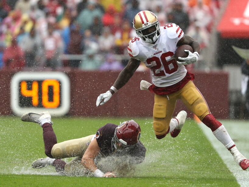 San Francisco 49ers v Washington Redskins