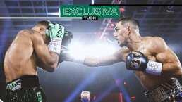 ¡Puuuuuuum! Teófimo 'noquea' a Lomachenko fuera del ring