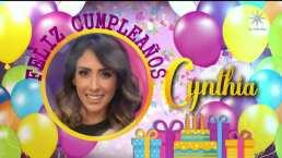 Así fue el cumpleaños de Cynthia Urías en 'Cuéntamelo ya!'