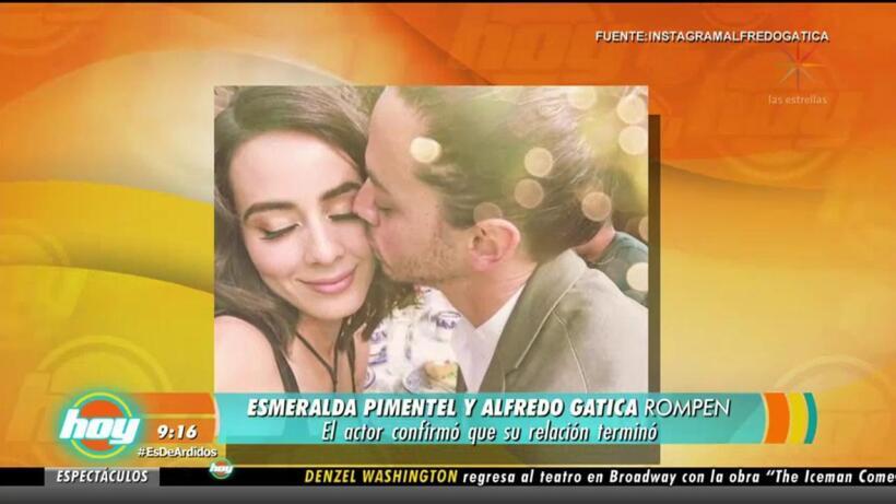 ¡Rompen! Esmeralda Pimentel y Alfredo Gatica