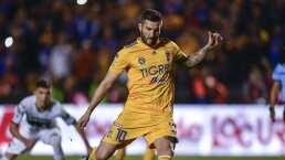 Gignac alcanza a Jonathan Rodríguez en la tabla de goleadores