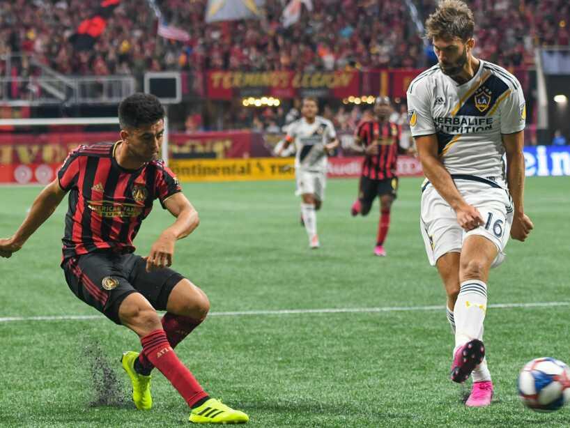 LA Galaxy sigue en picada, pierde ante Atlanta United en la MLS