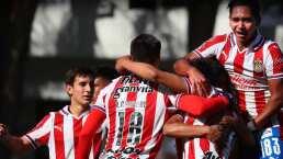 Fuerzas Básicas de Chivas se estrenan con goleada y empate ante Toluca