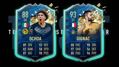 Salieron los TOTS, mejor equipo de la temporada, del FIFA 20 con Memo Ochoa y Gignac a la cabeza de los mejores jugadores del continente americano.
