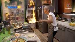 Revive los momentos de caos y peligro en las cocinas de Familias Frente al Fuego