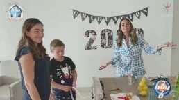 Galilea Montijo muestra estupendas ideas para armar una fiesta de graduación en casa