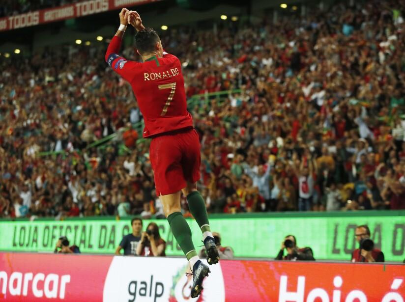 APTOPIX Portugal Luxembourg Euro 2020 Soccer