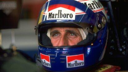 Alain Prost fue un piloto francés de Fórmula 1, tuvo una fuerte rivalidad con el piloto brasileño Ayrton Senna.
