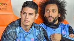 James Rodríguez siente que no lo quieren en el Real Madrid