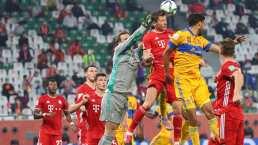 Tigres mantiene a raya al Bayern Munich al medio tiempo