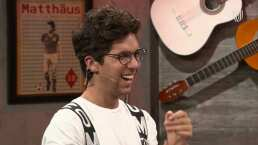 Mauricio Garza hizo reír a los miembros por su lección de vida