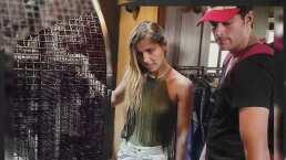 Danilo Carrera y Michelle Renaud fueron captados juntos en Orlando, Florida