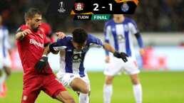 El Porto cayó 2-1 ante Leverkusen con Tecatito Corona titular