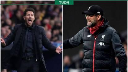 Diego Pablo Simeone y Jürgen Klopp, dos de los mejores, y más intensos, entrenadores del mundo se enfrentaron en la ida de los octavos de final de la Champions. ¡Vaya choque de titanes!