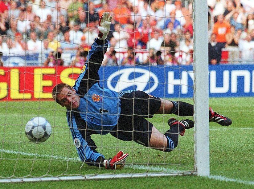 EURO 2000: SLOWENIEN - SPANIEN 1:2