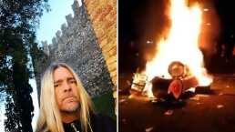 'Débiles y estúpidos': El baterista de Evanescence insulta a los que incendiaron su batería en el Knotfest