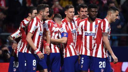 Con gol de Angel Correa al minuto 6, Atlético de Madrid logra imponerse al Granada y se quedan con los puntos en el Wanda Metropolitano.
