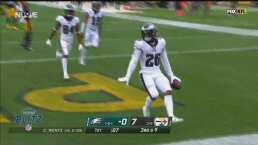 ¡Fue imparable! Sanders se escapa y logra un touchdown de 74 yardas