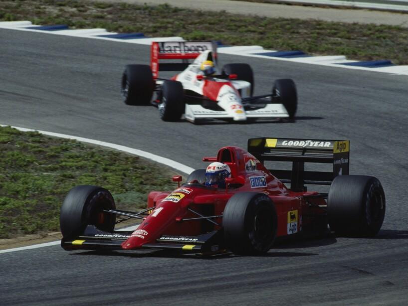 Formula One - Alain Prost and Ayrton Senna