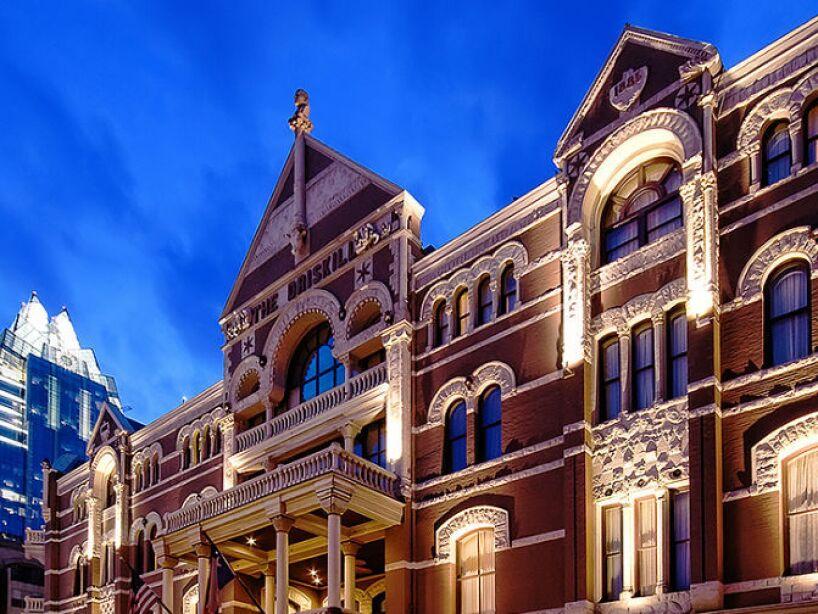 7. Hotel Driskill: Es el lugar más embrujado de Austin y todo buen cazafantasmas encontrará la emoción que busca ahí.
