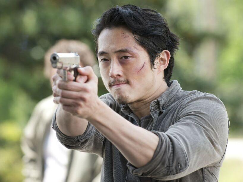 14. Glenn Rhee: La aparente muerte de este popular personaje de The Walking Dead generó polémica.