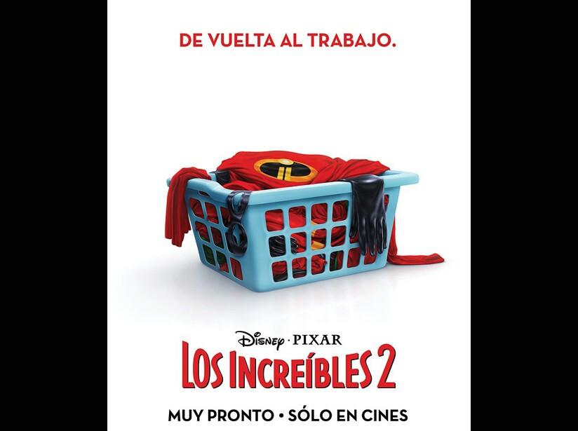 Póster Los Increíbles 2