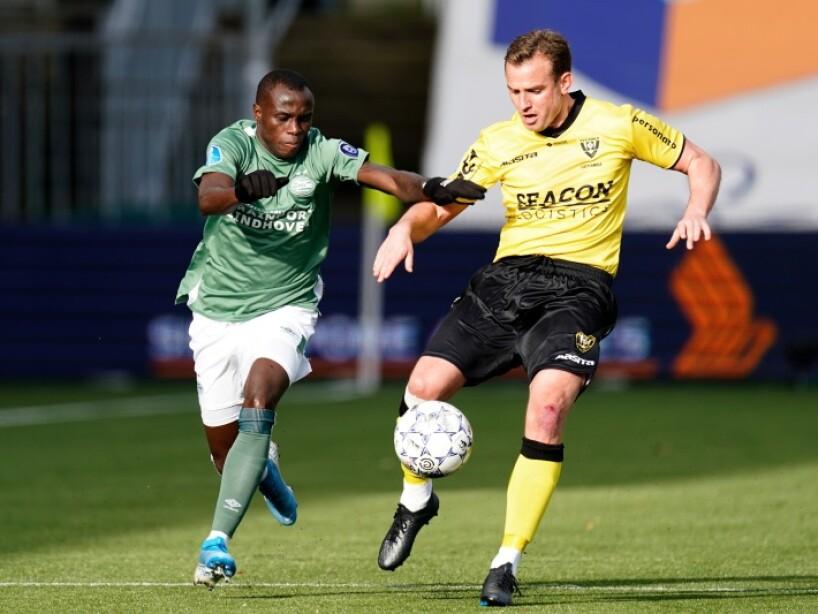 Con gol de último minuto, el PSV logra empatar 1-1 contra el Venlo