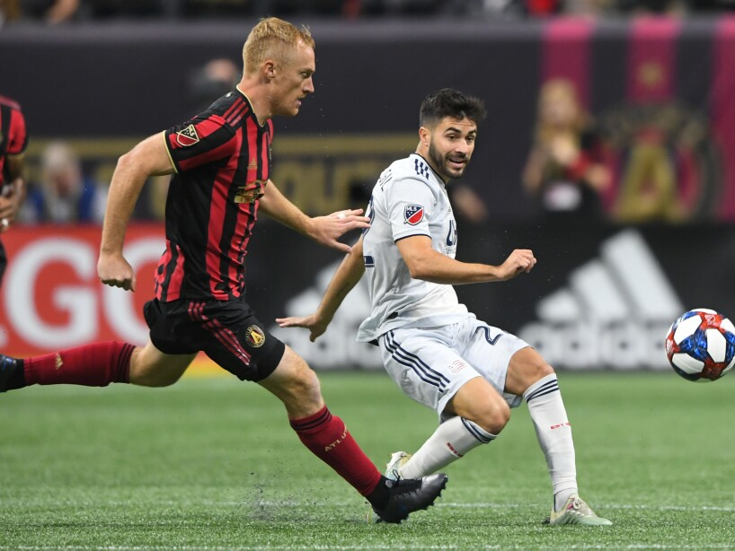 CORRECTION MLS Revoultion Atlanta United Soccer