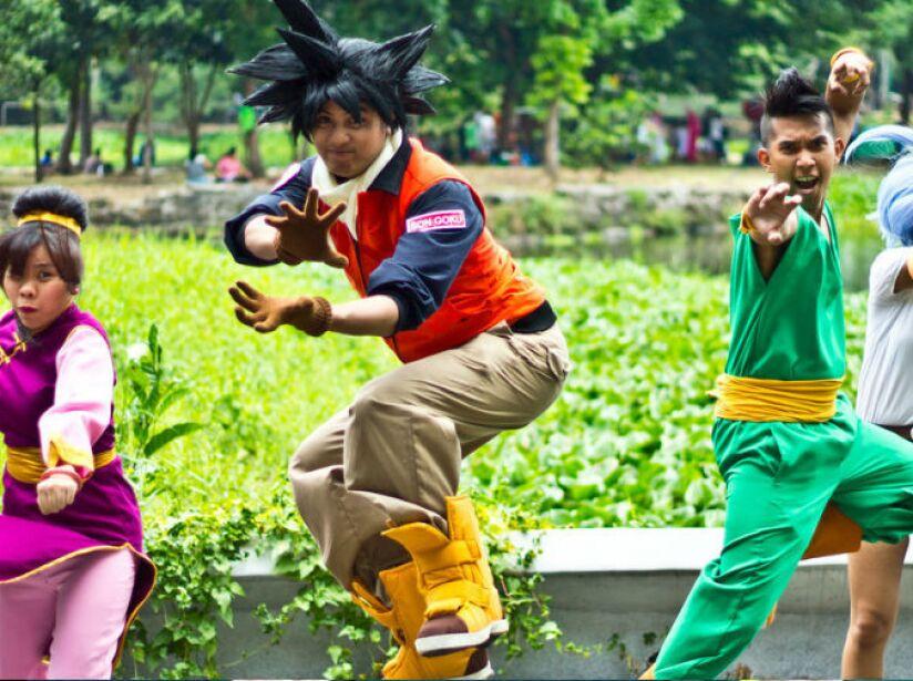 Estos chicos ya están listo para disfrutar de Dragon Ball Super y de La Resurrección de Freezer.
