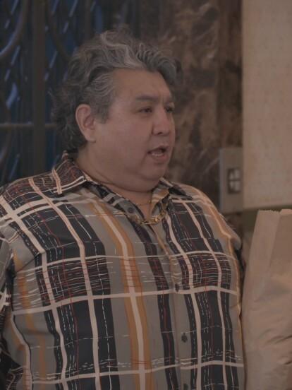 Roberto Tello interpreta en 'Una familia de diez' a 'Romualdo Brayan Donovan del Toro'.