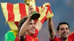 Jugada del Barça clave de España en Sudáfrica 2010