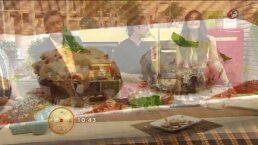 Cocina: Hongos portobello rellenos de requesón