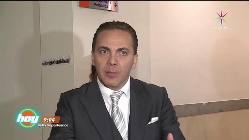 Cristian Castro vuelve a ser noticia ¡Checa por qué!