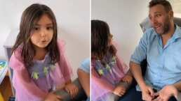 Patricio Borghetti y su hija Gia protagonizan tierno video de Tik Tok
